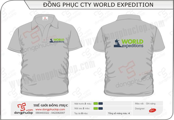 Đồng phục công ty World Expedition