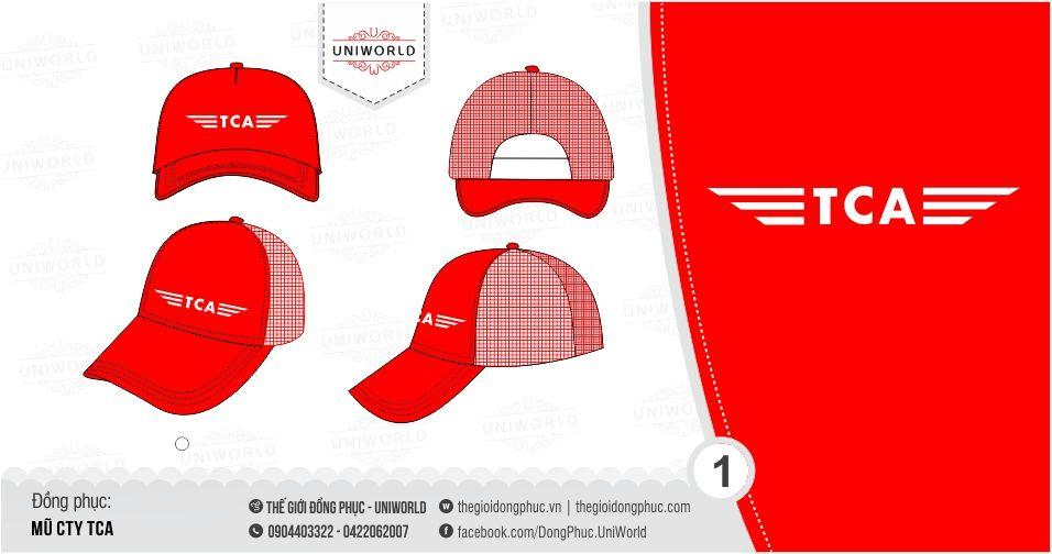 May in mũ lưỡi trai đồng phục nâng cao tính thương hiệu cho công ty