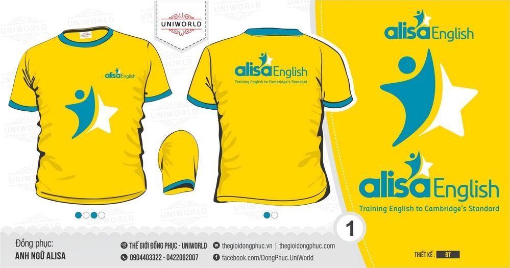Đồng phục công ty Anh Ngữ Alisa