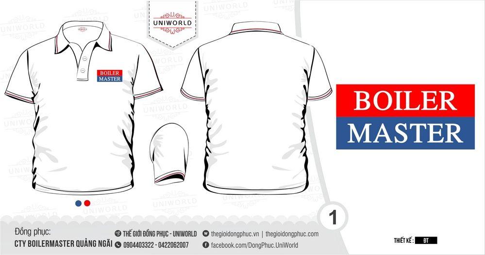 đồng phục công ty BoilerMaster Quảng Ngãi