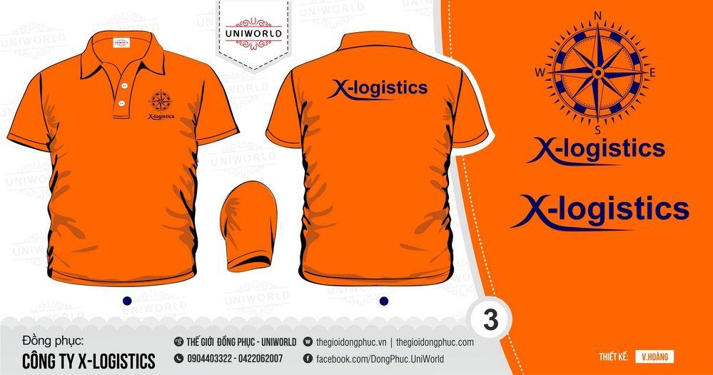 đồng phục công ty X Logistics