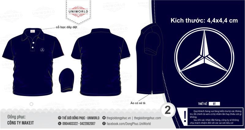 áo đồng phục công ty Makeit